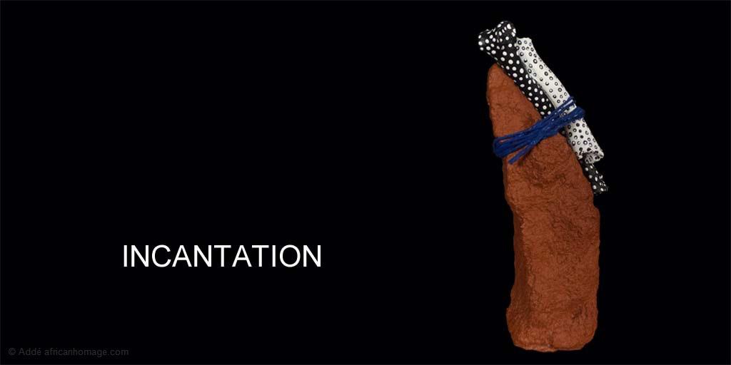 Incantation, sculpture, Addé