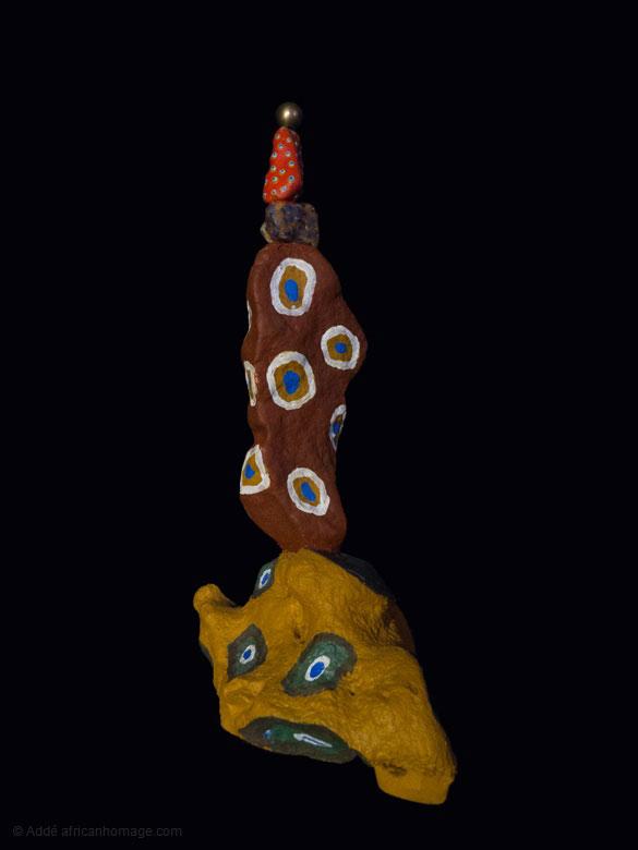 6Pin Ball Wizard trophy, sculpture, Addé