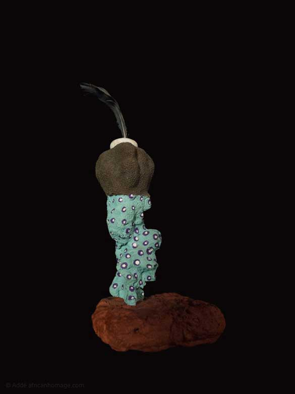 Sublimation of the truffle, sculpture, addé