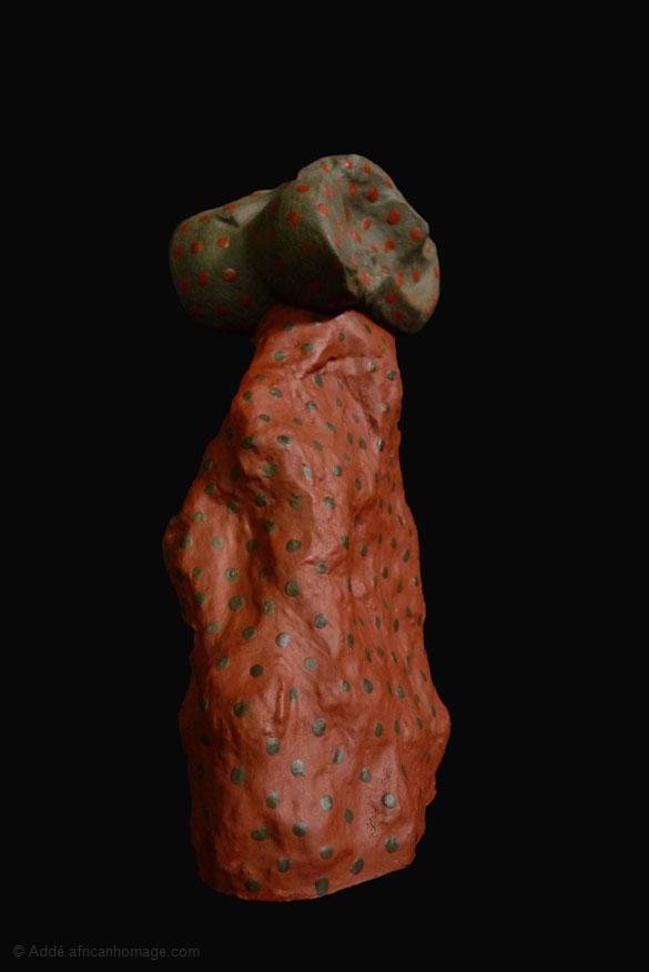 Bass Sola - Addé, sculpture, Addé, African Homage