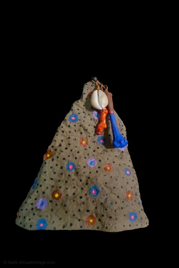 Danse Fambeaux, Addé, sculpture, african homage