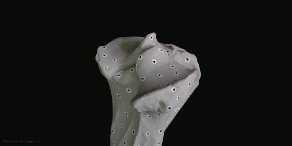From Stone to Bone, sculpture, detail, Addé, African Homage