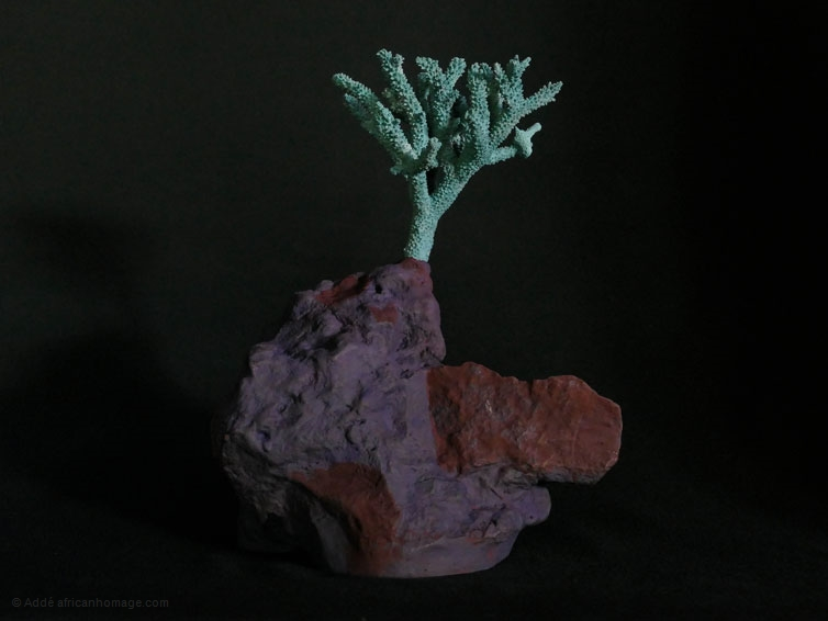 The tree of knowledge, sculpture, Addé, African Homage