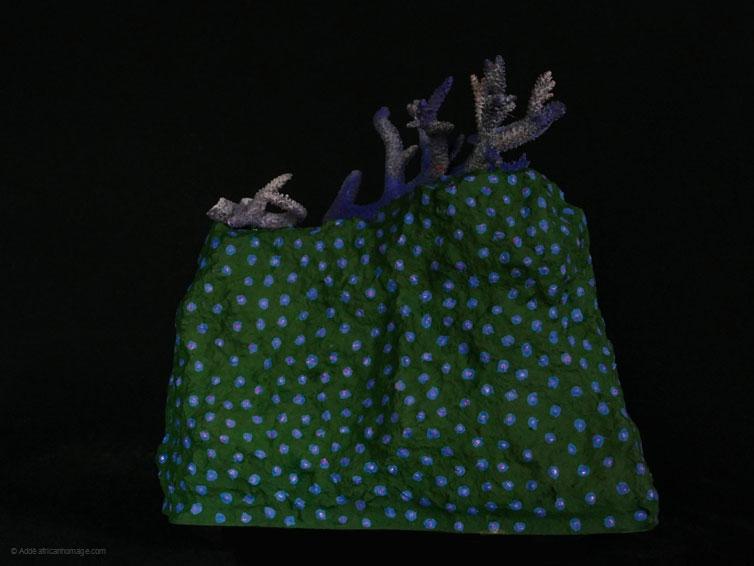 Petrichor, sculpture, Addé, African Homage