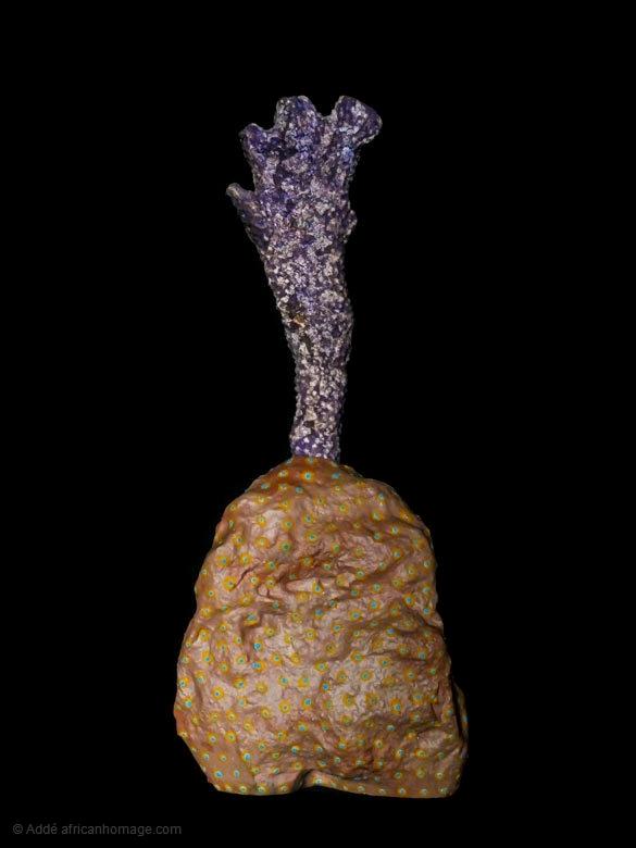 Andromeda, sculpture, Addé, African Homage