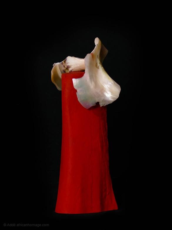 Non inultus premor, sculpture, addé, african homage