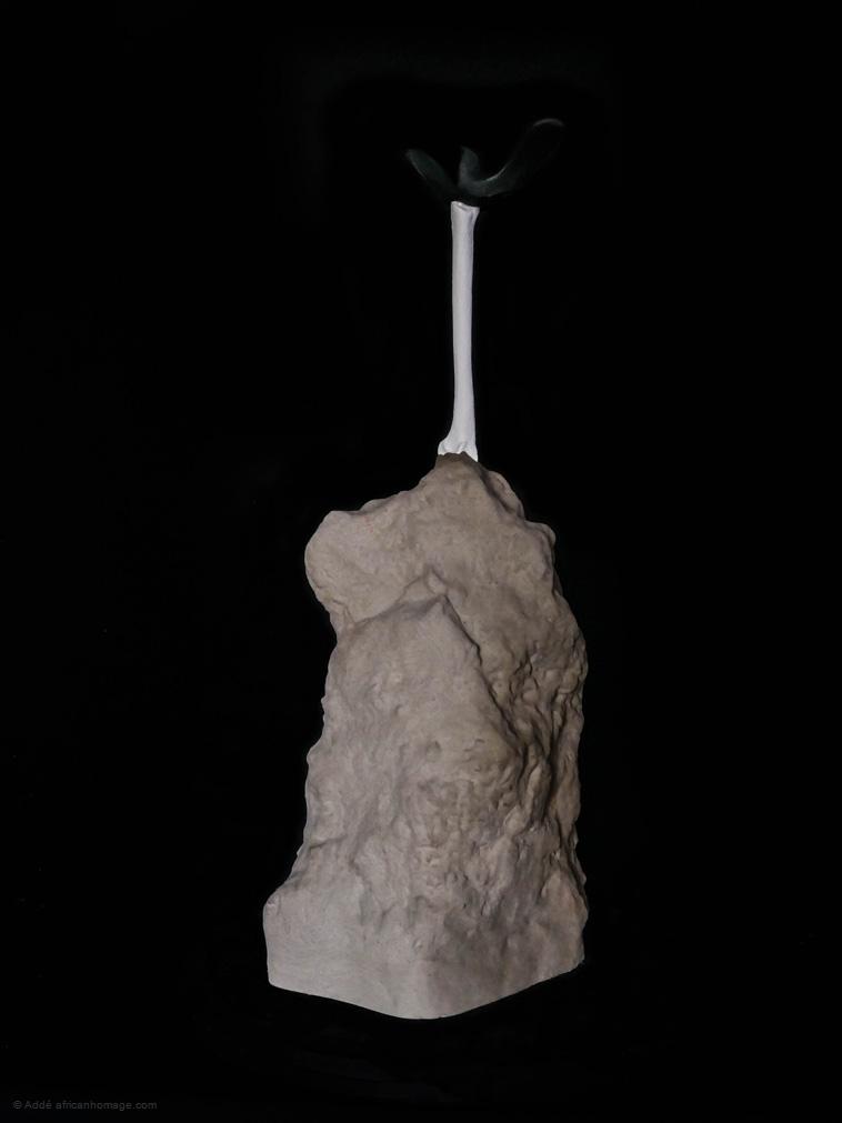 Rainbirds, sculpture, addé, african homage