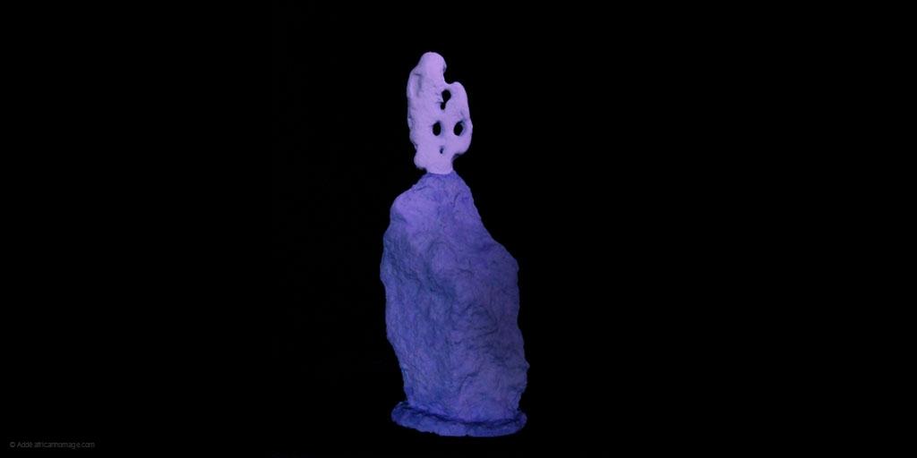 Luca, sculpture, addé, african homage