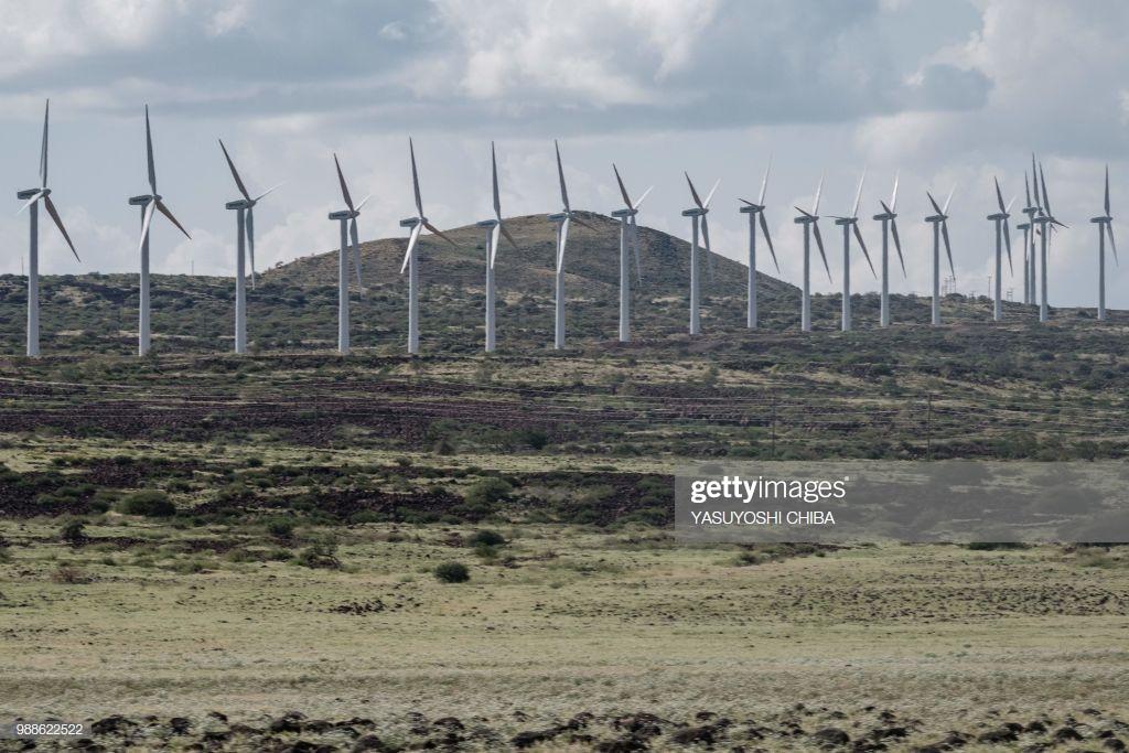 Les éoliennes dde Turkana, Getty Images, juillet 2019