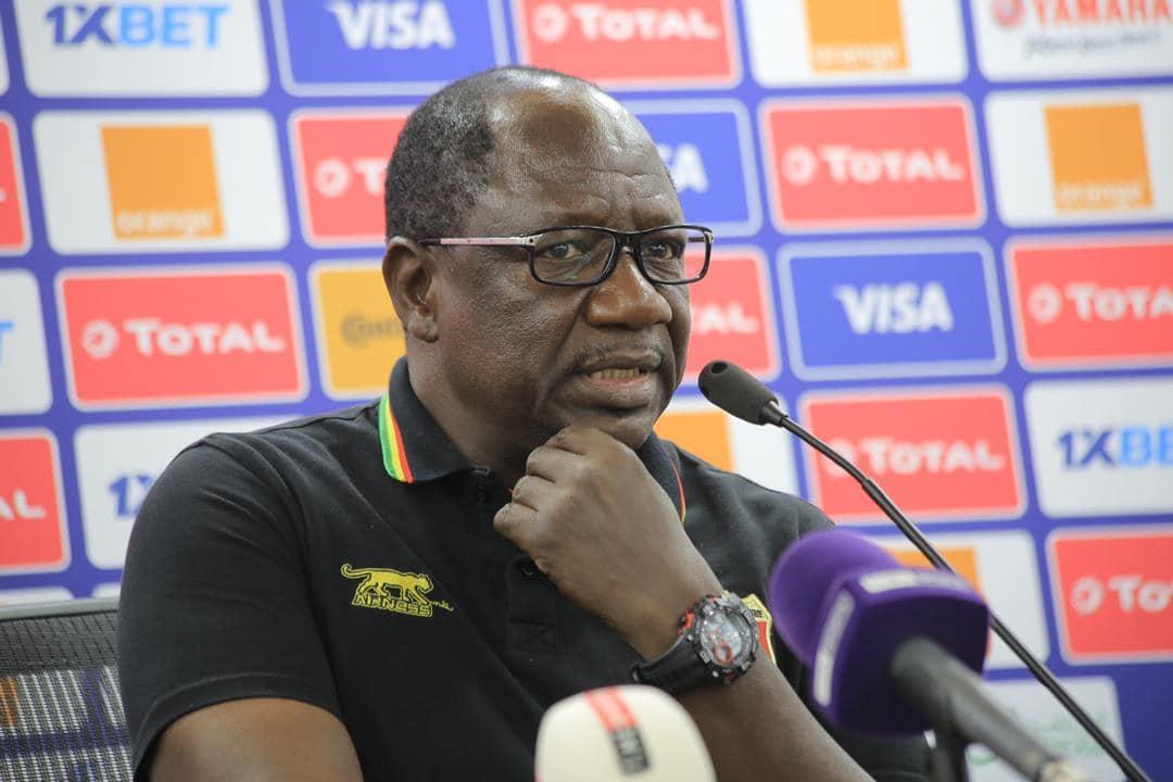 Magassouba Mohamed en conférence de presse