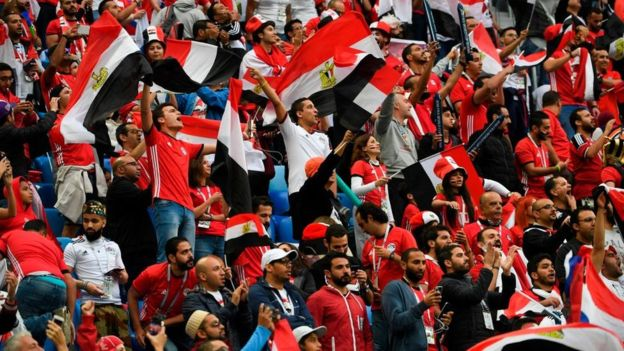 egyptsupporters by BBC