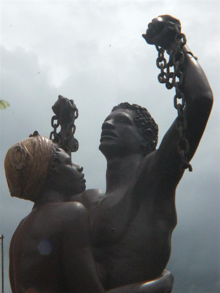 The Inhumanity of Slavery Monument