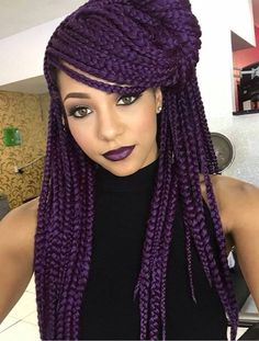 purple hair 2