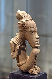 Nok Sculpture from the Louvre museum