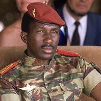Thomas Sankara in Ouagadougou