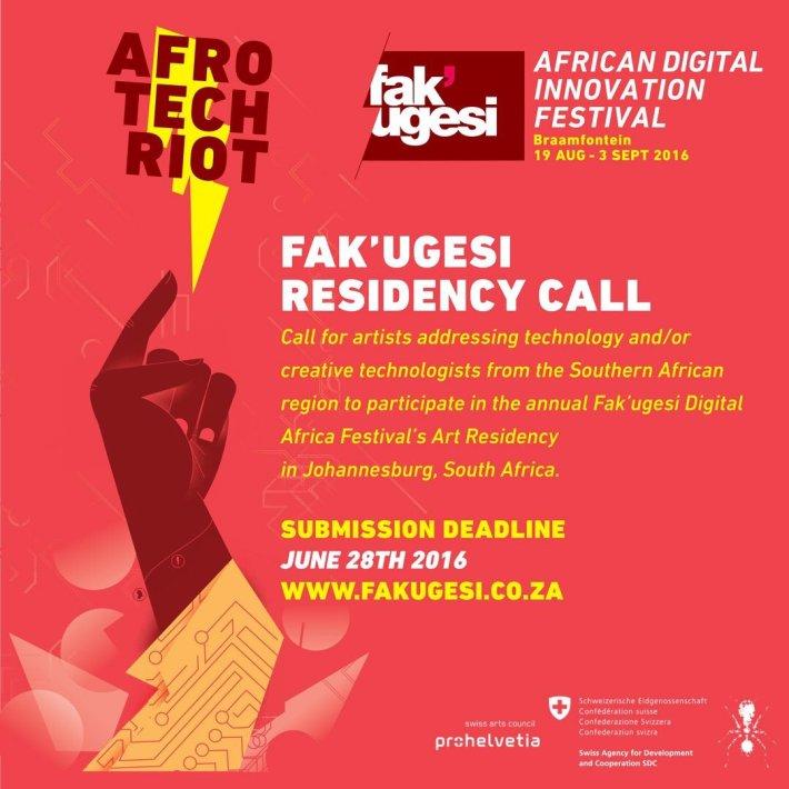 Fak'Ugesi Residency Call