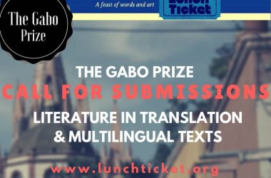 Gabo Prize for Literature in Translation & Multi-Lingual Texts