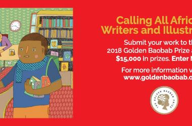 Call for Submissions: 2018 Golden Baobab Prize