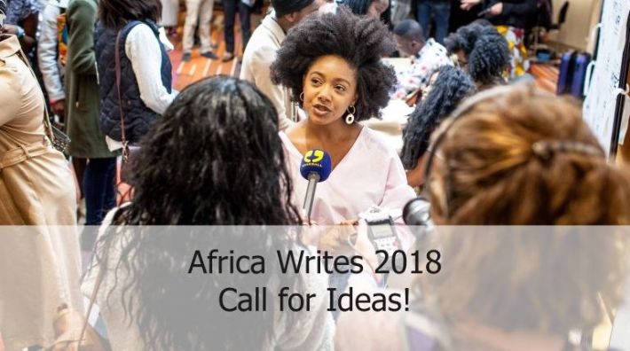 Africa Writes 2018 – Call for Ideas