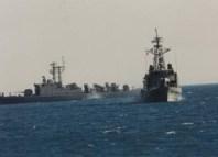 بنزرت: جيش البحر ينقذ 5 أجانب من جورجيا على متن مركب