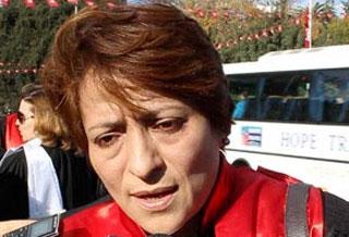 La présidente de l'association des magistrats tunisiens (AMT)