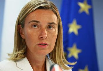 La haute représentante pour les Affaires étrangères et la politique de sécurité de l'Union européenne