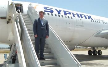 La compagnie privée de transport aérien
