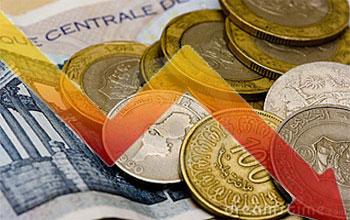 Le  Dinar tunisien continue sa vertigineuse dégringolade face à l'euro et au dollar US .Ce mardi 1er juillet