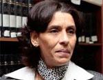 La présidente du syndicat des magistrats tunisiens (SMT) Raoudha Laabidi