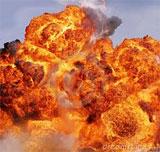 Une mine a  explosé  dans la matinée du  jeudi 10 avril 2014