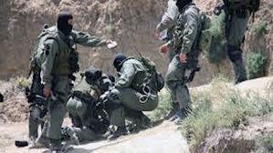 Les forces de la garde et l'armée nationales dans la région de Jebel Chamama dans la délégation de Sbeitla à Kasserine
