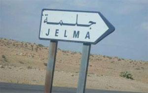 Des dizaines de protestataires se sont rassemblés depuis le matin de mercredi 12 février 2014 dans la ville de Jelma à Sidi Bouzid et bloqué la route