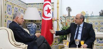 Le président du parti Al Moubadara