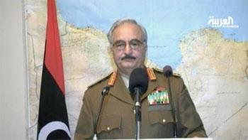 Des sources d'informations concordantes font état d'un putsch militaire mené par le Général Khalifa Haftar ancien commandant des forces terrestres