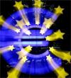 L'euro montait un peu face au dollar lundi