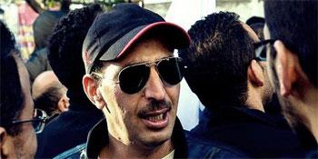 Le leader du groupe « Les hommes de la Révolution au Kram »