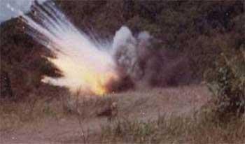 Une mine a explosé dans  la zone militaire fermée à Jebel Châambi