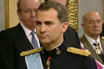 Felipe VI a succédé aujourd'hui à son père Juan Carlos. A 46 ans