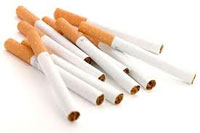 Les cigarettes de la contrebande couvrent environ 43% du volume total du marché où environ 300 millions de boites de cigarettes se commercialisent