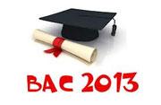 Le ministère de l'éducation porte à la connaissance des candidats au baccalauréat 2013