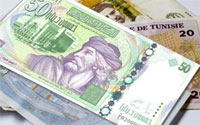 955 millions de dinars représentant 191% du montant escompté ont été