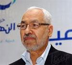 Le leader du mouvement Ennahdha Rached Ghannouchi
