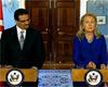 La secrétaire d'Etat américaine Hillary Clinton a rencontré