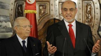 """A la suite de la diffusion de l'enregistrement d'une conversation à huis clos que l'ex-premier ministre Béji Caïd Essebssi a eue avec l'actuel"