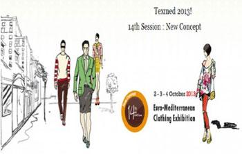 La 14ème édition du Salon Euro Méditerranéen de l'Habillement « Texmed Tunisia 2013»