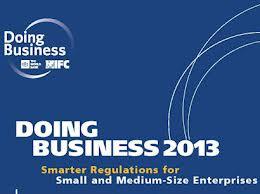 Le nouveau rapport Doing Business de la SFI et de la Banque mondiale vient d'être publié: «Des réglementations intelligentes pour les petites