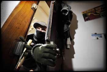 Des inconnus ont volé dans la soirée du mardi 24 féviers2 015