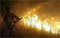 Un incendie a été maitrisé difficilement après avoir ravagé