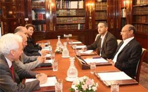 Le président de la Haute autorité indépendante de la communication audiovisuelle (HAICA)