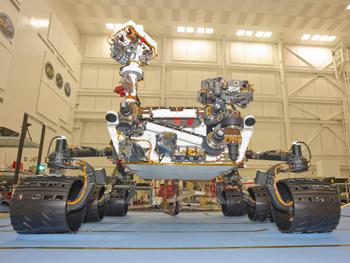 L'un des robots les plus célèbres de l'espace célèbre un nouvel